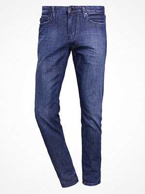 Jeans - Emporio Armani Jeans straight leg dark blue