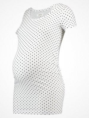 Zalando Essentials Maternity Tshirt med tryck white/black