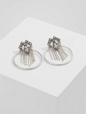 Topshop örhängen STUD Örhänge crystal/silvercoloured