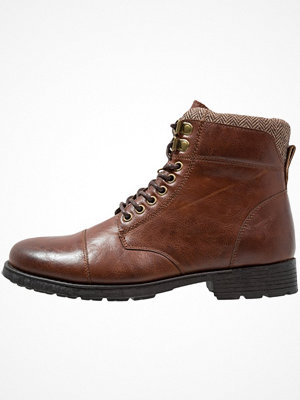 Boots & kängor - New Look LONDON MILITARY Snörstövletter tan