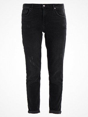 Topshop LUCAS Jeans relaxed fit black