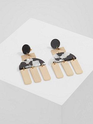 Topshop örhängen MOON Örhänge black/goldcoloured