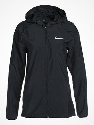 Nike Performance ESSENTIAL JAKET HOODED Löparjacka black/wolf grey/reflective silver