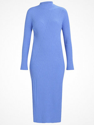 Weekday CHROMA DRESS Stickad klänning  bright blue