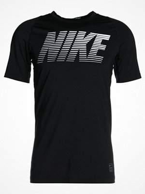 Nike Performance Tshirt med tryck black/white/white