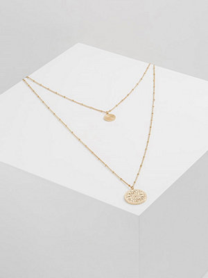 Topshop ROW MULTI Halsband goldcoloured