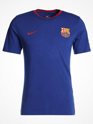 Nike Performance FC BARCELONA TEE CREST Klubbkläder deep royal blue
