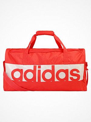 Sport & träningsväskor - Adidas Performance LINEAR PERFORMANCE Sportväska orange