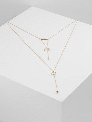 Topshop GEO MROW Halsband goldcoloured