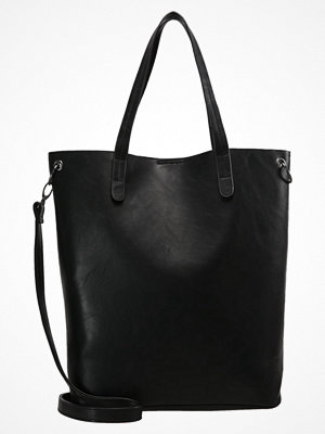 Even&Odd svart shopper Shoppingväska black