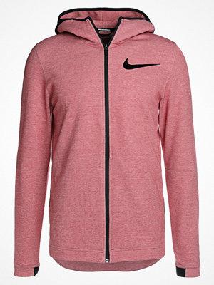 Street & luvtröjor - Nike Performance DRY SHOWTIME HOODIE Sweatshirt team red/black