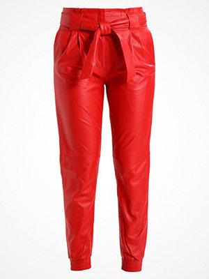 Just Female NEW SAGO TROUSERS Skinnbyxor posh red röda