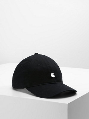 Kepsar - Carhartt WIP MADISON LOGO Keps black/white