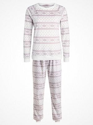 Pyjamas & myskläder - Dorothy Perkins FAIRISLE Pyjamas cream