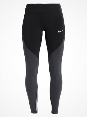 Nike Performance EPIC  Tights black/anthracite/white/reflective silver