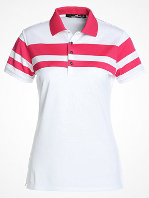 Pikétröjor - Polo Ralph Lauren Golf TECH  Funktionströja pure white/red ra
