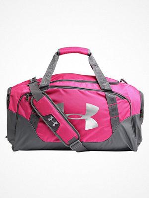 Sport & träningsväskor - Under Armour UNDENIABLE DUFFLE 3.0 MEDIUM Sportväska tropic pink/graphite/silver