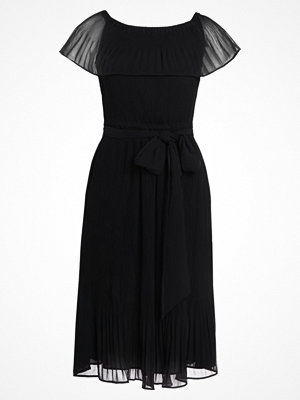 MICHAEL Michael Kors RUFFLE PLEAT  Cocktailklänning black
