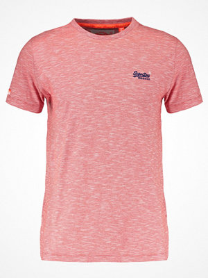 Superdry ORANGE LABEL VINTAGE Tshirt bas beach red feeder stripe