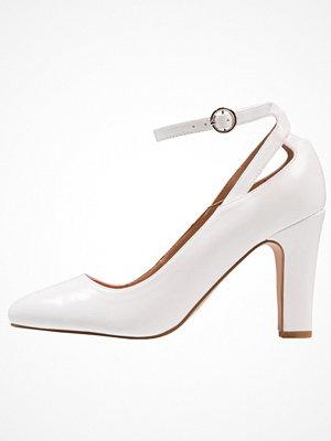 Anna Field Klassiska pumps white
