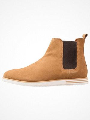 Boots & kängor - Zign Stövletter cognac