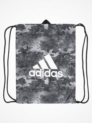 Sport & träningsväskor - Adidas Performance GYM SACK Sportväska white/black