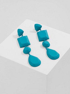 Topshop örhängen MATT FACET  Örhänge blue