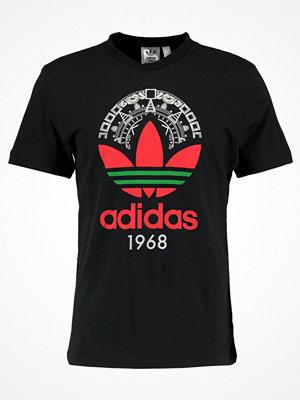 Adidas Originals TREFOIL Tshirt med tryck black