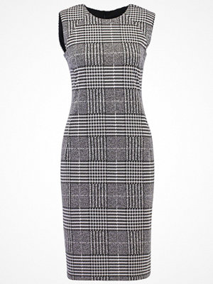 Dorothy Perkins CHECK SEAMED PENCIL Fodralklänning black/white