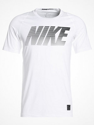 Nike Performance Tshirt med tryck white/black/black