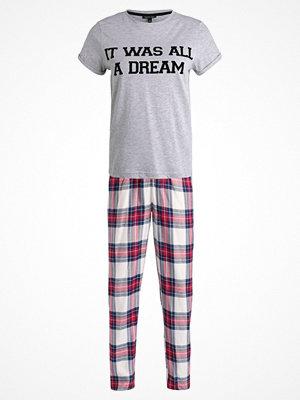 Pyjamas & myskläder - Topshop IT WAS ALL A DREAM SET Pyjamas red