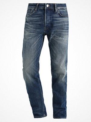 Jack & Jones JJIFRED JJORIGINAL Jeans straight leg blue denim