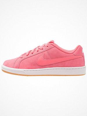 Nike Sportswear COURT ROYALE SUEDE Sneakers sea coral/light brown/vast grey