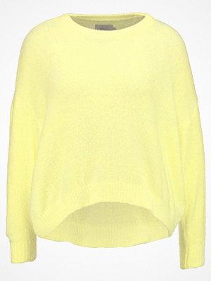 Only ONLTHEA  Stickad tröja elfin yellow