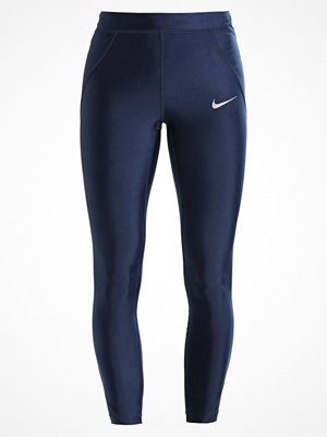 Nike Performance POWER SPEED 7/8 Tights obsidian/reflective silver