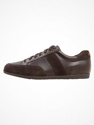 Sneakers & streetskor - Polo Ralph Lauren PRICE Sneakers dark brown/dark brown