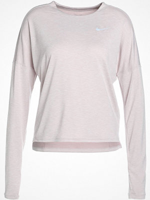 Nike Performance DRY MEDALIST LONGSLEEVE Funktionströja particle rose/white/reflective silv
