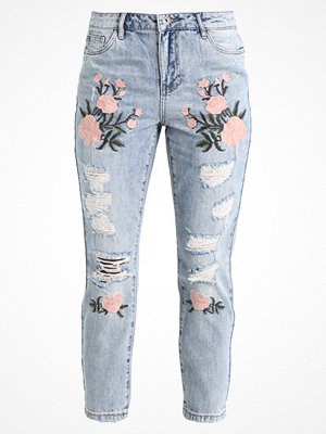 Only ONLTONNI Jeans relaxed fit light blue denim