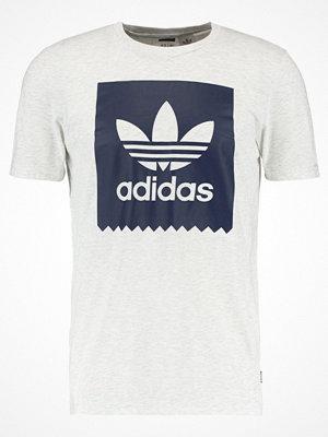 Adidas Originals SOLID Tshirt med tryck mottled grey