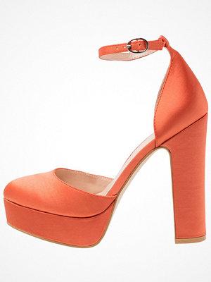 Even&Odd Klassiska pumps orange