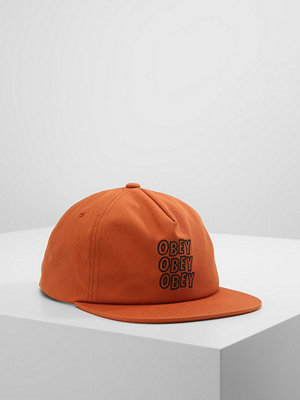 Kepsar - Obey Clothing REPETITION SNAPBACK  Keps rust