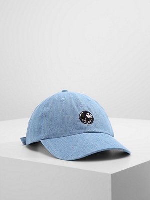 Kepsar - Obey Clothing BREAK 6 PANEL HAT Keps light denim