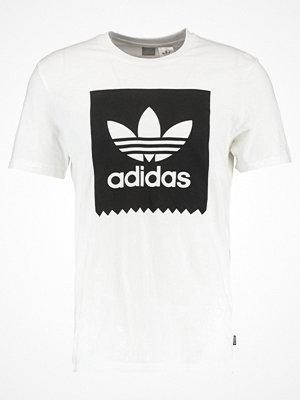 Adidas Originals SOLID Tshirt med tryck white/black
