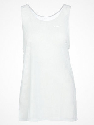 Sportkläder - Nike Performance TANK ASYMMETRIC Funktionströja vast grey/heather/white