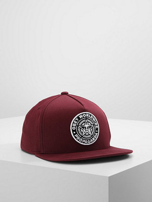 Kepsar - Obey Clothing CLASSIC PATCH SNAPBACK Keps burgundy