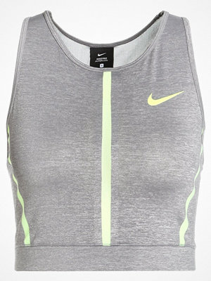 Sportkläder - Nike Performance TANK Funktionströja gunsmoke/heather/gunsmoke/volt