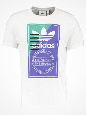 Adidas Originals TONGUE Tshirt med tryck white
