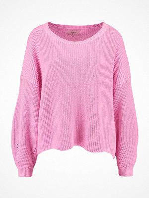 Only ONLTINA  Stickad tröja begonia pink