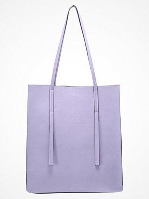 Even&Odd omönstrad shopper Shoppingväska lilac
