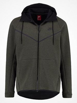 Street & luvtröjor - Nike Sportswear TECH FLEECE WINDRUNNER Sweatshirt sequoia/heather/black